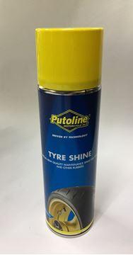 Afbeeldingen van Putoline Tyre Shine ook Banden zwart