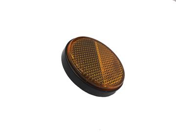 Afbeeldingen van Reflector oranje rond met schroefdraad