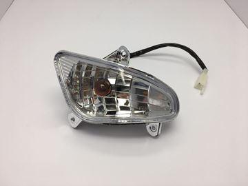 Afbeeldingen van Knipperlicht compleet achterkant links voor model VX50 vespa look a like