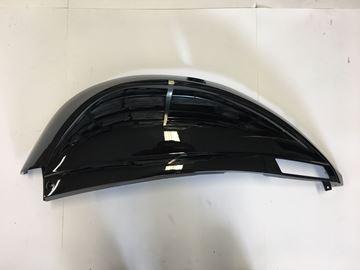 Afbeeldingen van Zijscherm links glans zwart voor AGM swan,BTC Riva 2, Turbho RP50