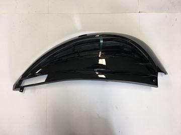 Afbeeldingen van Zijscherm rechts glans zwart voor AGM swan,BTC Riva 2, Turbho RP50 & GerRay Xi