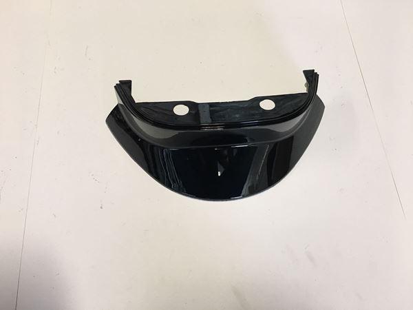 Afbeelding van Kapje onder spoiler achterkant glans zwart SP50, Streetline, look a like zip
