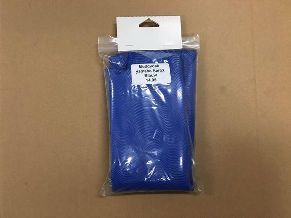 Afbeelding van Buddyseat dek Yamaha Aerox blauw