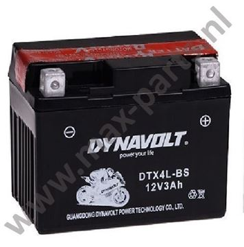 Picture of Accu YTX4L-BS DTX4L-BS 113-70-85 voor veel 2 Tact scooters