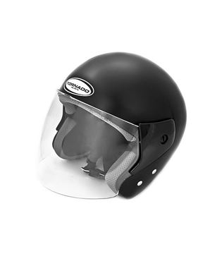 Picture of Tornado Jet helm Classic zwart metallic