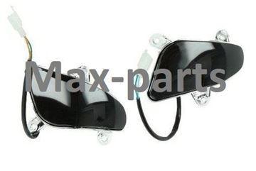 Afbeeldingen van Knipperlicht set achterkant SMOKE voor model VX50 vespa look a like