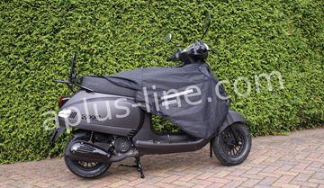 Afbeeldingen van Beencover, beenkleed universeel voor vele modellen scooters