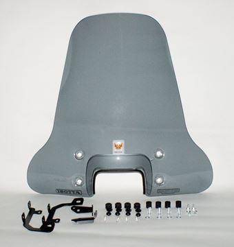 Picture of Windscherm smoke Isotta economy hoog voor VX50s, Riva sport en Type D