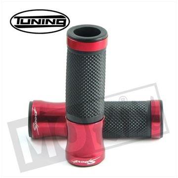 Afbeeldingen van Handvatten set L+R Tuning zwart en rood