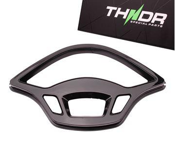 Picture of THNDR Teller inleg/rand glans zwart voor Vespa Primavera en Sprint