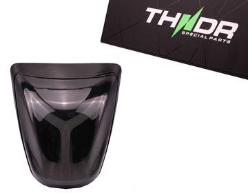Afbeeldingen van THNDR achterlicht LED smoke voor Vespa Primavera en Sprint glans zwart