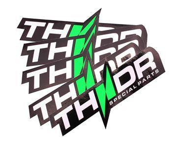 Afbeeldingen van THNDR sticker logo 100x50mm