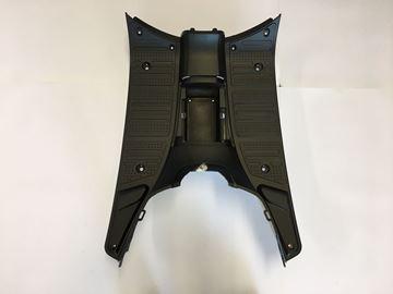 Picture of Treeplank mat zwart look a like Vespa LX/S VX50, VX50s, Riva, Riva sport, RL50, D, GTS Toscana, La Souris Vespelini & DJJD Cashmere