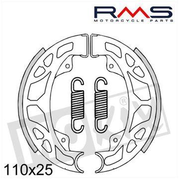 Afbeeldingen van Remschoen set Tomos A3 en A35 nieuw model RMS