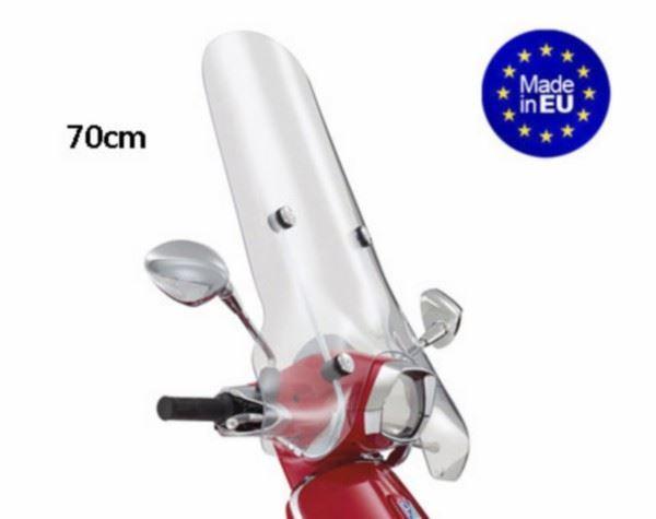 Afbeelding van Windscherm hoog imitatie Vespa Sprint made in Europe