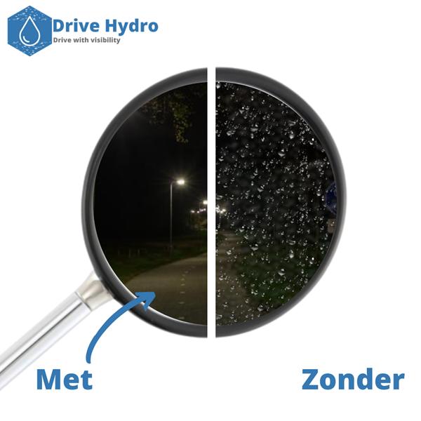 Afbeelding van Spiegel waterafstotende folie 80mm x 80mm set Drive Hydro